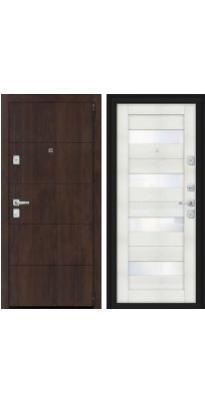 Дверь входная металлическая Porta M 4.П23 Almon 28/Bianco Veralinga