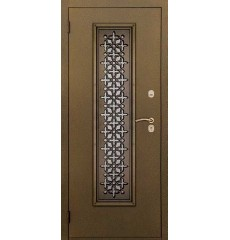 Дверь входная металлическая нестандартная Арабика