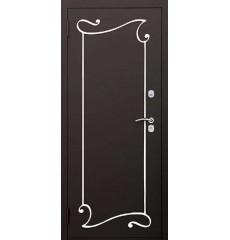Дверь входная металлическая нестандартная Аттика