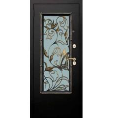 Дверь входная металлическая нестандартная Бабочка