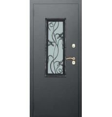 Дверь входная металлическая нестандартная Букет