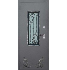 Дверь входная металлическая нестандартная Элегия