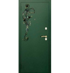 Дверь входная металлическая нестандартная Елизавета