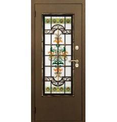 Дверь входная металлическая нестандартная Комплимент