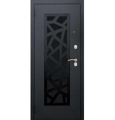 Дверь входная металлическая нестандартная Кристалл