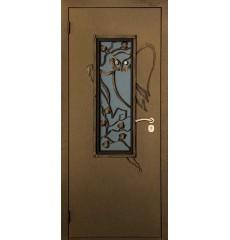 Дверь входная металлическая нестандартная Лесная сказка