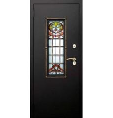 Дверь входная металлическая нестандартная Лилия