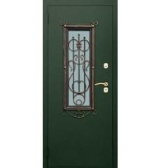 Дверь входная металлическая нестандартная Лира