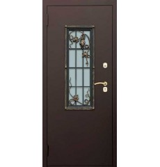 Дверь входная металлическая нестандартная Маргарита