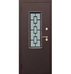 Дверь входная металлическая нестандартная Решетка