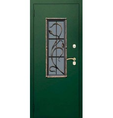 Дверь входная металлическая нестандартная Росток