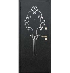 Дверь входная металлическая нестандартная Силуэт
