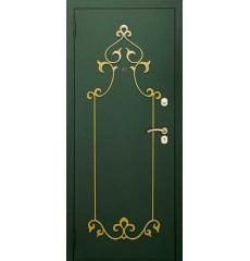 Дверь входная металлическая нестандартная Тамерлан