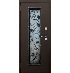Дверь входная металлическая нестандартная Василек