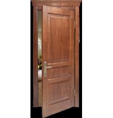 Дверь деревянная межкомнатная АЛЕКСАНДРА массив дуба