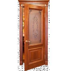 Дверь деревянная межкомнатная ЕКАТЕРИНА массив дуба