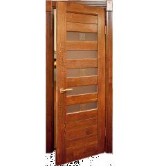 Дверь деревянная межкомнатная АДЕЛЬ массив дуба