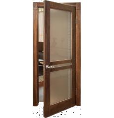 Дверь деревянная межкомнатная АФИНА массив дуба