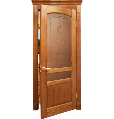 Дверь деревянная межкомнатная КРИСТИНА массив дуба