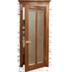 Дверь деревянная межкомнатная МАРИЯ массив дуба