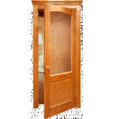 Дверь деревянная межкомнатная НИКА массив дуба