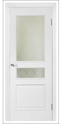 Двери межкомнатные Серия «Нордика», модель 158-КР
