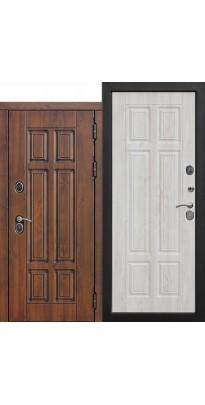 Входная дверь c ТЕРМОРАЗРЫВОМ 13 см Isoterma МДФ/МДФ Сосна белая