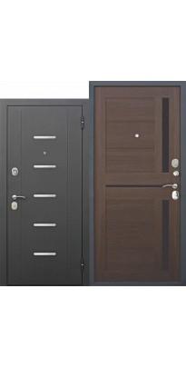 Входная дверь 7,5 Гарда Муар ЦАРГА Лиственница шоколад
