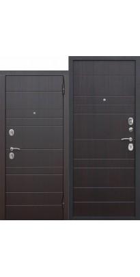 Входная металлическая дверь Барселона с МДФ панелями.