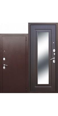 Металлическая входная дверь Царское зеркало Венге