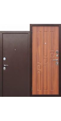 Входная дверь Гарда Рустикальный дуб. Внутреннее открывание