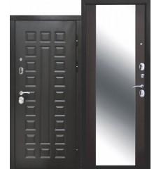 Входная дверь 12 см СЕНАТОР ЗЕРКАЛО (Венге/Венге)