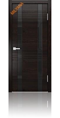 Дверь деревянная межкомнатная ID D Ясень Винтаж