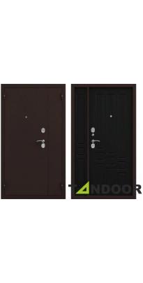 Дверь входная металлическая нестандарт KOMFORT ВЕНГЕ (1200*2050)