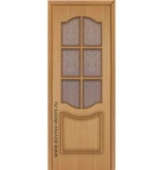 Дверь деревянная межкомнатная КЛАССИКА дуб ПО