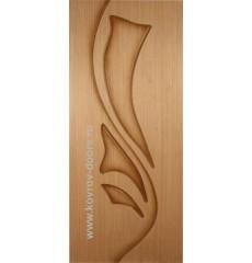 Дверь деревянная межкомнатная ЛИЛИЯ дуб ПГ