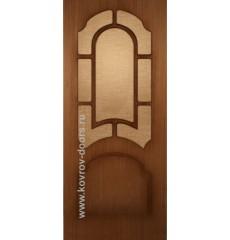 Дверь деревянная межкомнатная СОНАТА орех ПО
