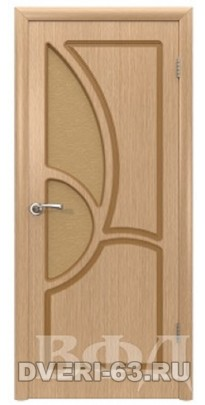 Дверь деревянная межкомнатная ГРЕЦИЯ дуб ПО