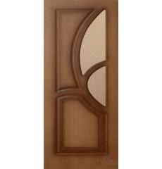 Дверь деревянная межкомнатная ГРЕЦИЯ орех ПО