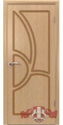 Дверь деревянная межкомнатная ГРЕЦИЯ дуб  ПГ