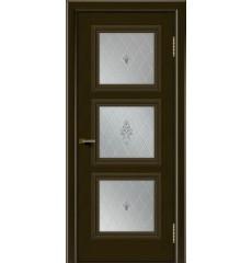 Дверь деревянная межкомнатная Грация ПГ тон-35