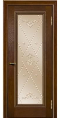 Дверь деревянная межкомнатная Валенсия ПО тон-30