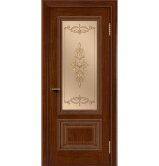 Дверь деревянная межкомнатная Виолетта ПО тон-10