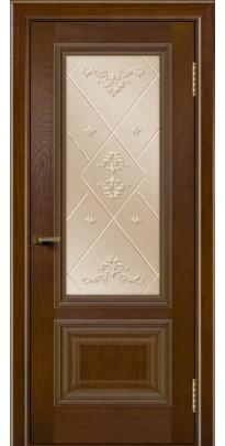 Дверь деревянная межкомнатная Виолетта ПО тон-30