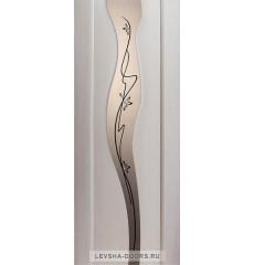 Дверь деревянная межкомнатная АРОМА ПО Беленый Дуб