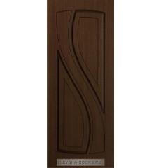 Дверь деревянная межкомнатная ЛАУРА ПГ Шоколад