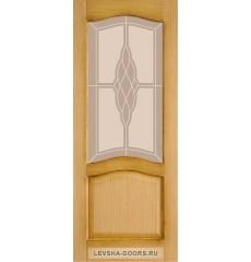 Дверь деревянная межкомнатная МОДЕЛЬ №4 ПО Италия Дуб