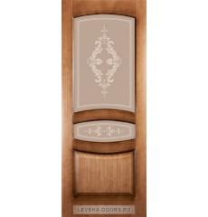 Дверь деревянная межкомнатная СИЕНА ПО Бронза Орех