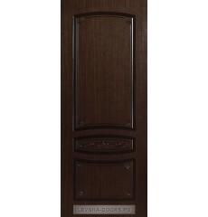 Дверь деревянная межкомнатная ВЕНЕЦИЯ ПГ Орех