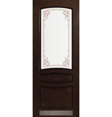 Дверь деревянная межкомнатная ВЕНЕЦИЯ ПО Орех